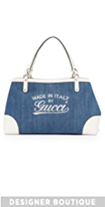 Gucci Denim Hawaii Tote (Previously Owned) What Goes Around Comes Around