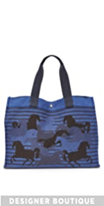 Hermes Canvas Horse Tote (Previously Owned) What Goes Around Comes Around