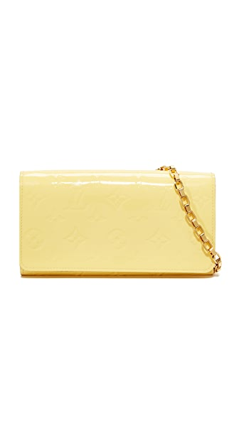 What Goes Around Comes Around LV Vernise Sarah Chain Wallet (Previously Owned)