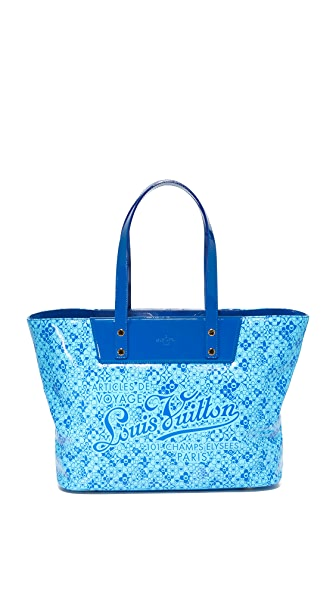 What Goes Around Comes Around Louis Vuitton Cosmic Blossom Tote (Previously Owned) - Blue Multi
