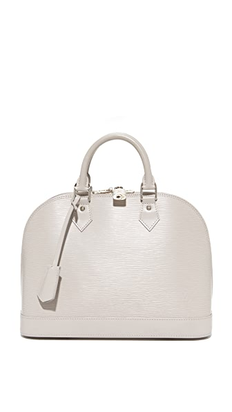 What Goes Around Comes Around Louis Vuitton Epi Alma Satchel (Previously Owned) In Grey