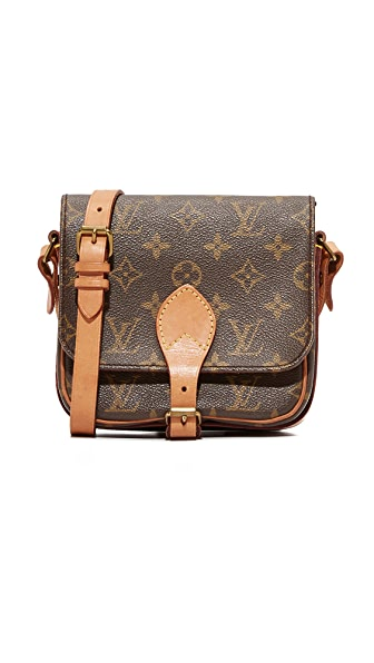 What Goes Around Comes Around LV Mono Cartouchere Mini Cross Body (Previously Owned)