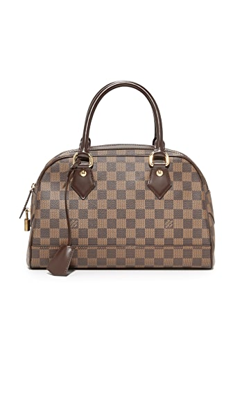 What Goes Around Comes Around Louis Vuitton Damier Duomo Satchel (Previously Owned) In Lv Print