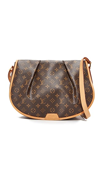 What Goes Around Comes Around Louis Vuitton Monogram Shoulder Bag (Previously Owned) - LV Print
