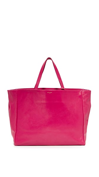 What Goes Around Comes Around Yves Saint Laurent Leather Tote (Previously Owned) In Pink