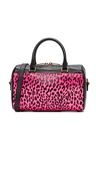 What Goes Around Comes Around YSL Classic Baby Duffel Bag (Previously Owned) - Pink/Black