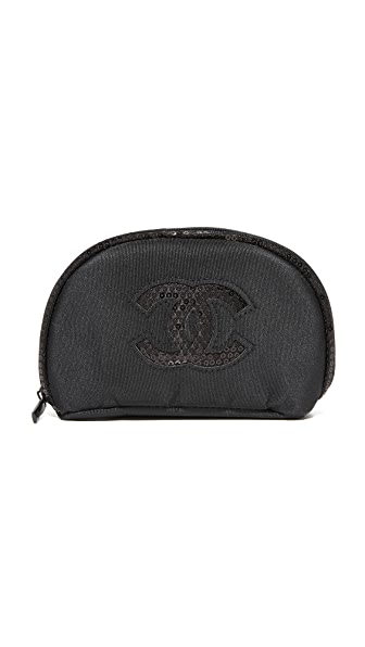 What Goes Around Comes Around Chanel Sequins Cosmetic Bag (Previously Owned) - Black