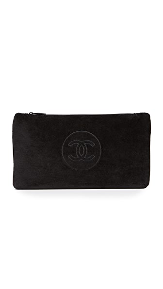What Goes Around Comes Around Chanel Cosmetic Bag (Previously Owned) - Black