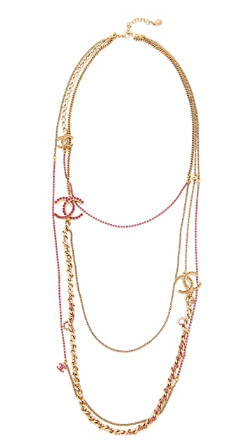 What Goes Around Comes Around Chanel Strands Necklace