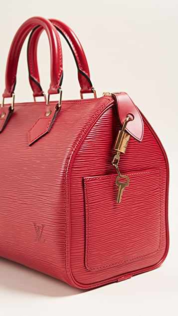 What Goes Around Comes Around LV Epi Speedy 25 Bag (Previously Owned)