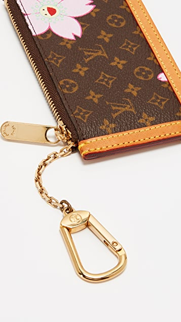 What Goes Around Comes Around LV Murakami A Pouchette Clefs Coin Pouch (Previously Owned)