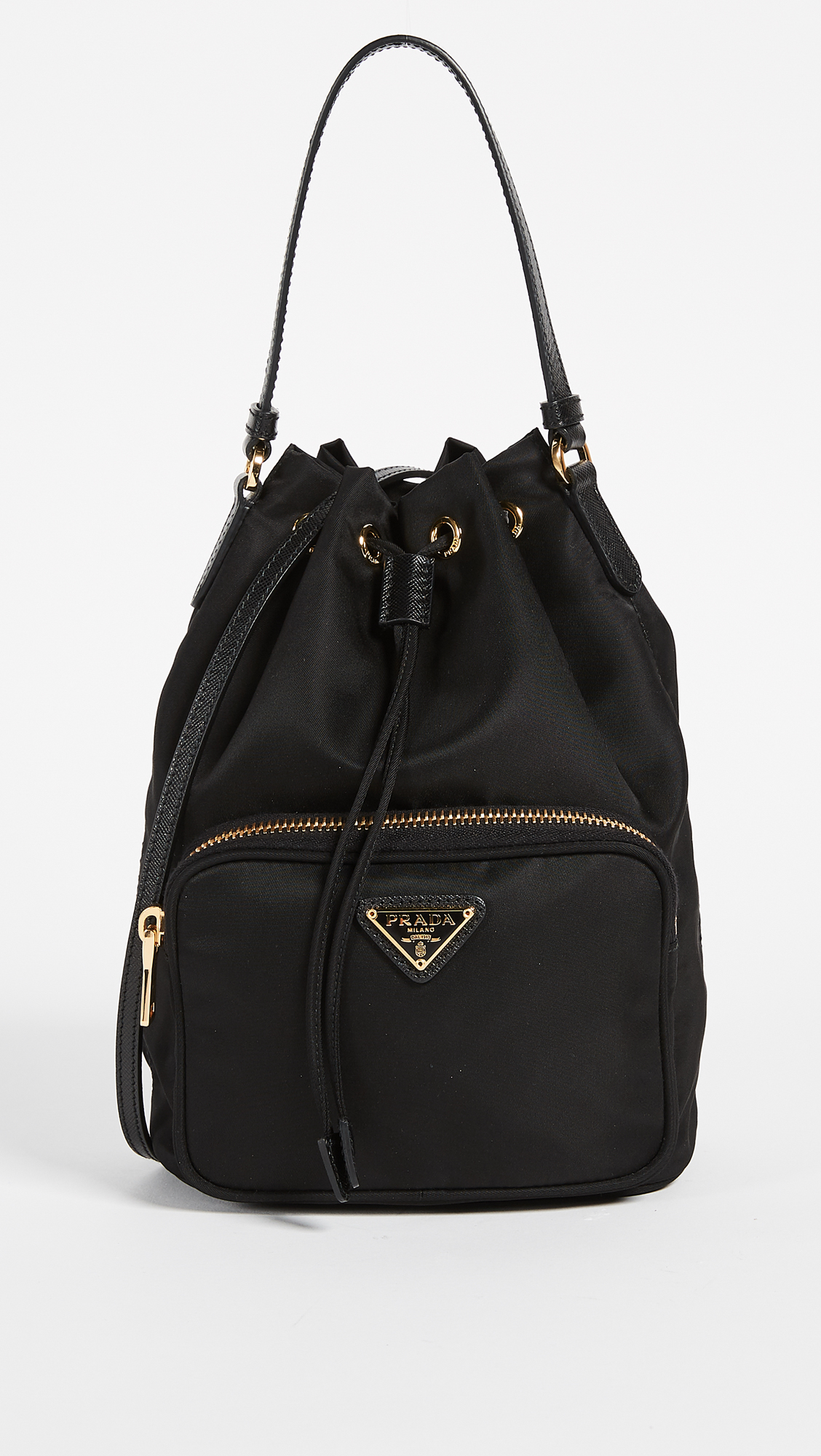 a590ae5c410b What Goes Around Comes Around. Prada Tessuto Bucket Shoulder Bag ...