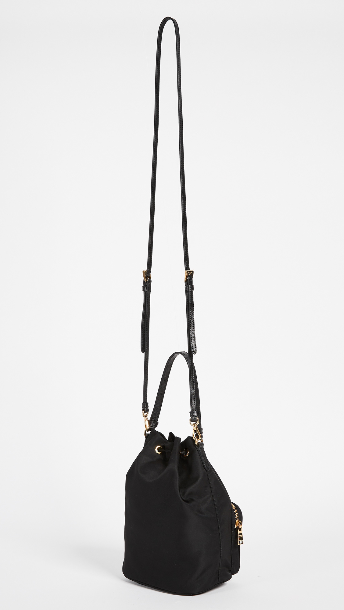 b6be44ace7bc ... spain what goes around comes around prada tessuto bucket shoulder bag  previously owned shopbop 8d373 1289b