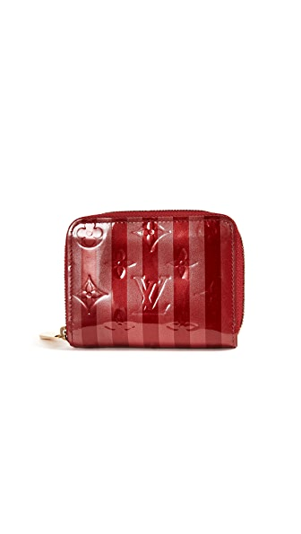 What Goes Around Comes Around Louis Vuitton Rayures Zippy Coin Purse (Previously Owned)