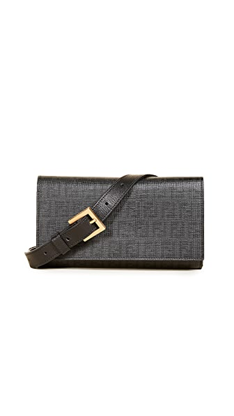 What Goes Around Comes Around Fendi Belt Bag (Previously Owned) In Black