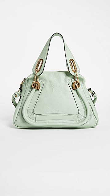 What Goes Around Comes Around Small Chloe Leather Paraty Cross Body Bag (Previously Owned)