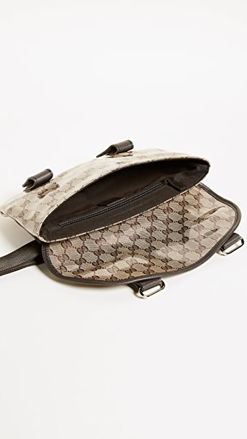 What Goes Around Comes Around Gucci Canvas Fanny Pack (Previously Owned)