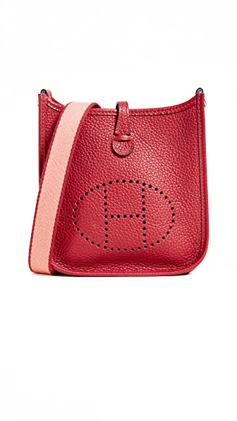 Hermes Clem Evelyne Bag (Previously Owned), Red