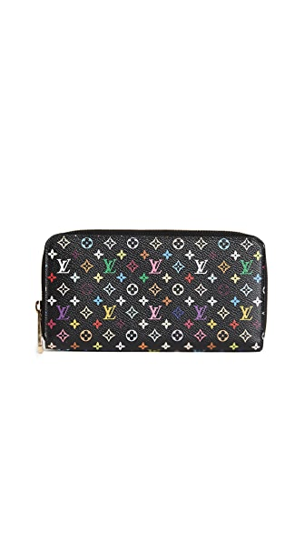 What Goes Around Comes Around Louis Vuitton Epi Zippy Wallet (Previously Owned) In Black