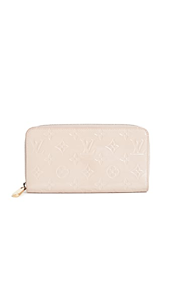 What Goes Around Comes Around Louis Vuitton Vernis Zippy Wallet (Previously Owned) In Pink