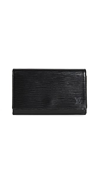 What Goes Around Comes Around Louis Vuitton Epi Tresor Wallet (Previously Owned) at Shopbop
