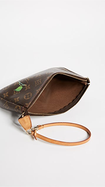 What Goes Around Comes Around Louis Vuitton Murakami AB Pouchette (Previously Owned)
