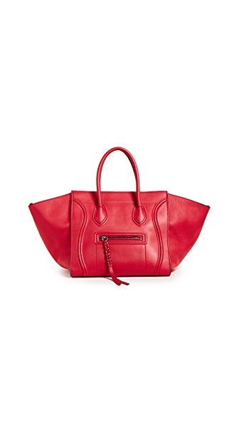 What Goes Around Comes Around Celine Medium Phantom Bag (Previously Owned) In Red