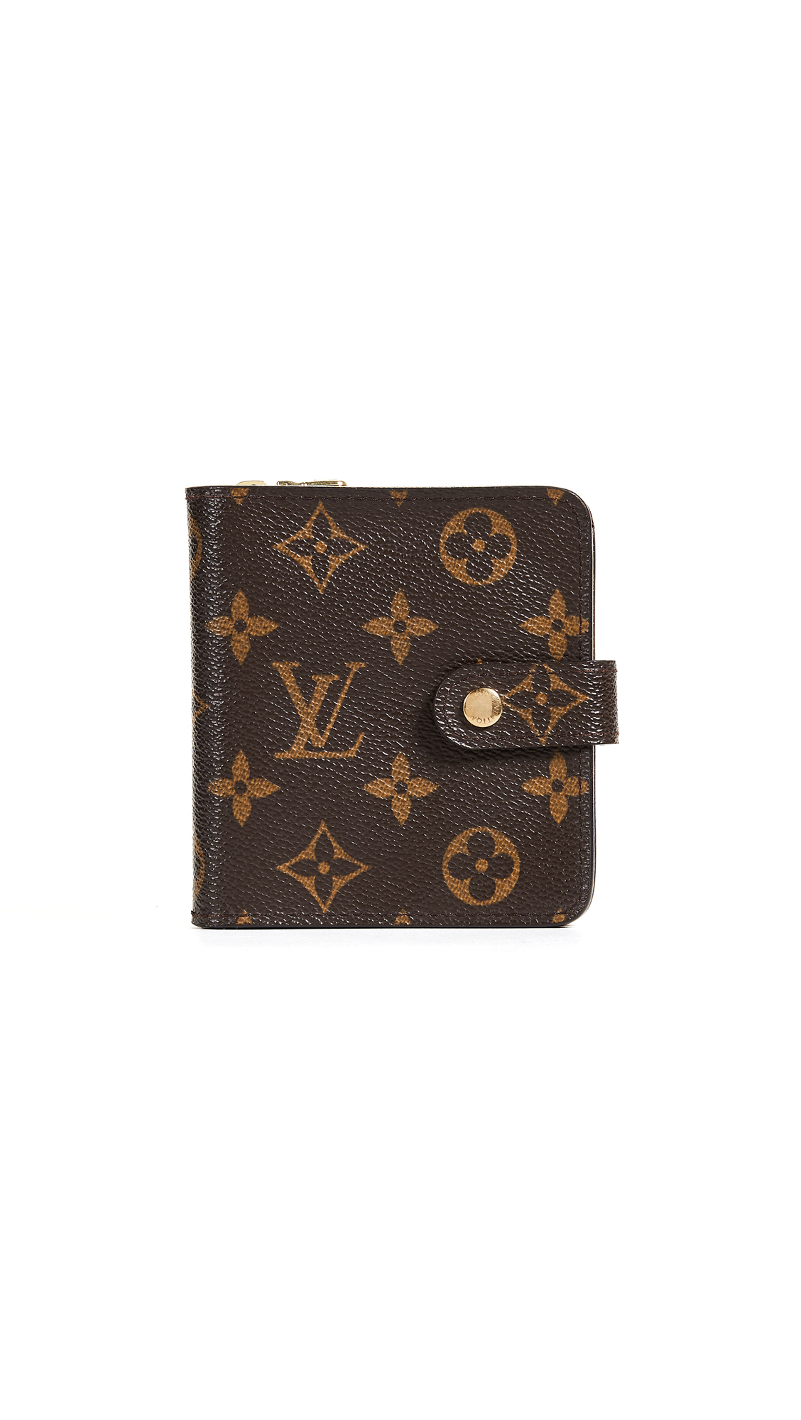 LOUIS VUITTON MONOGRAM AB COMPACT ZIP WALLET