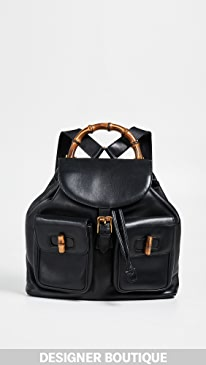 9cfe1fd4f6a6 What Goes Around Comes Around. Gucci Large Backpack