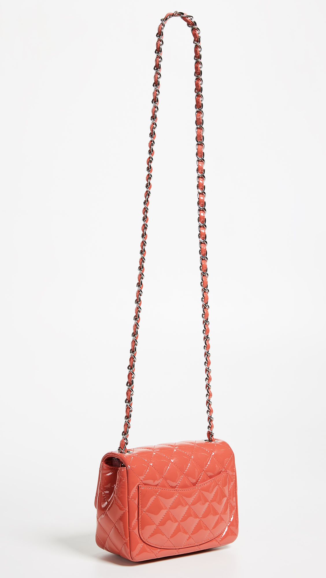 a7aabc795c4f What Goes Around Comes Around Chanel Patent Mini Flap Bag | SHOPBOP