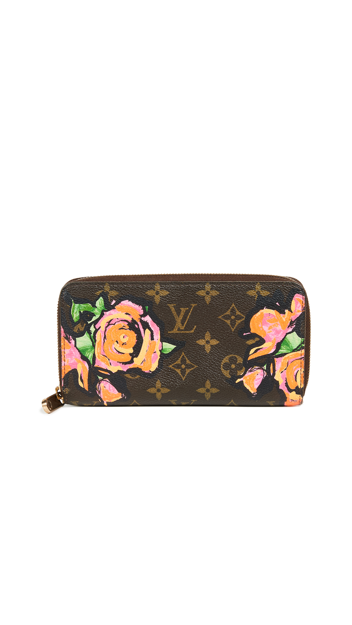 LOUIS VUITTON ROSES ZIPPY WALLET