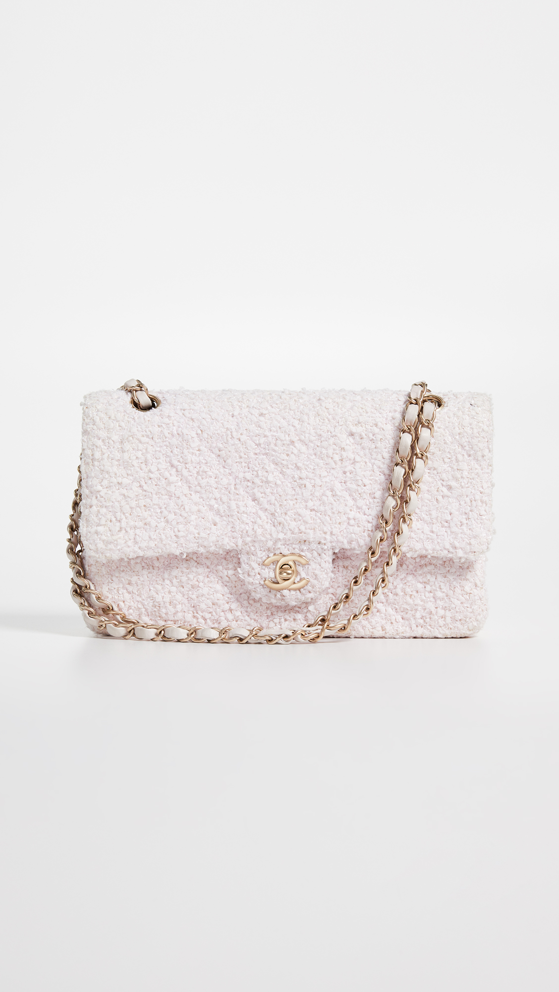3e9472fee71d What Goes Around Comes Around Chanel Pink Tweed 2.55 9