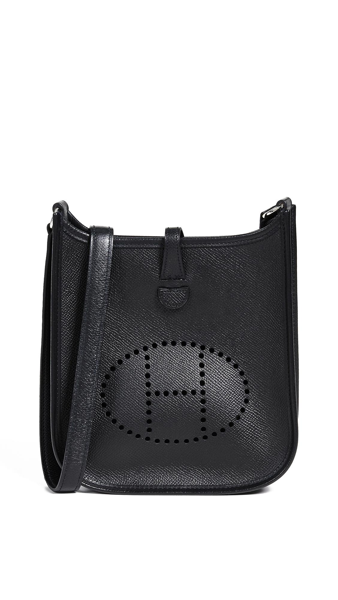 Hermes Black Epsom Evelyne Bag