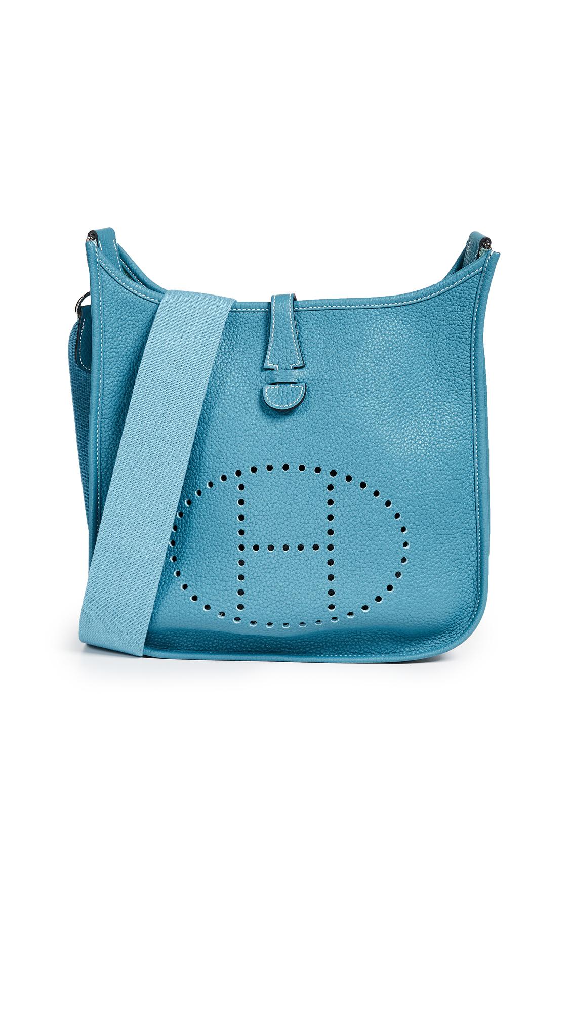 Hermes Blue Clem Evelyne I Pm Bag
