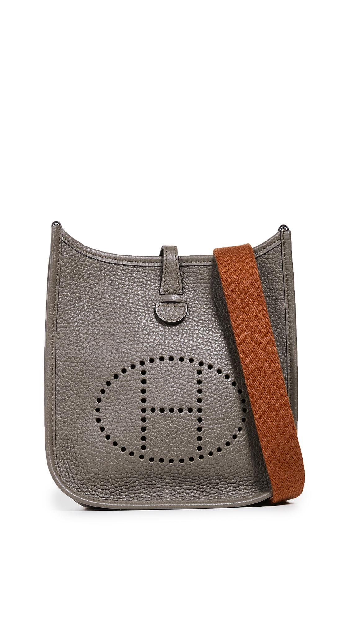 Hermes Clemence Evelyn I Pm Bag, Grey
