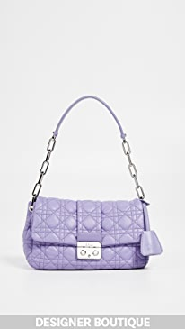 c1f1763243492a What Goes Around Comes Around. Dior Purple Lambskin New Lock Bag