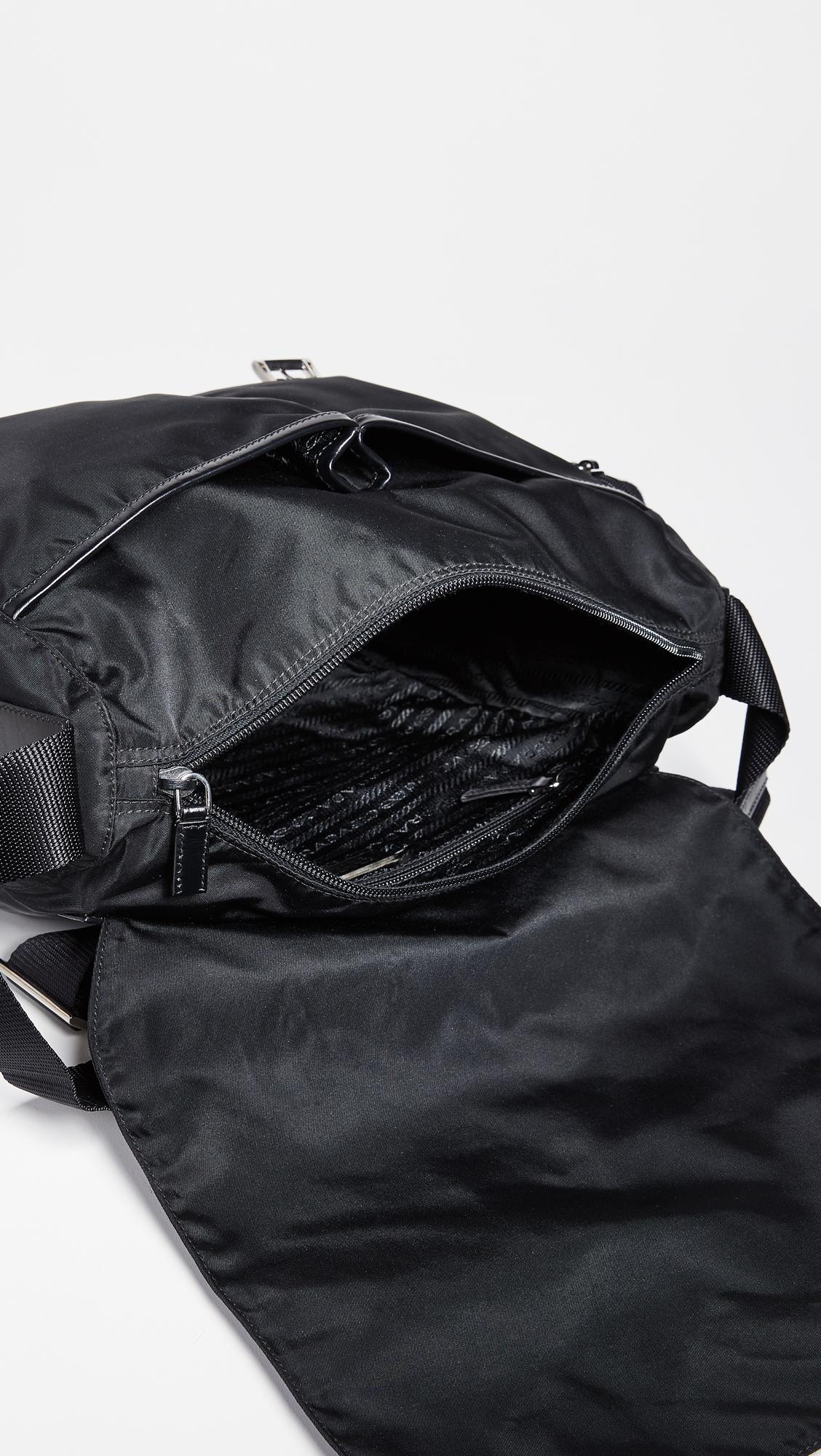 567ad40402a5 What Goes Around Comes Around Prada Nylon Messenger Bag