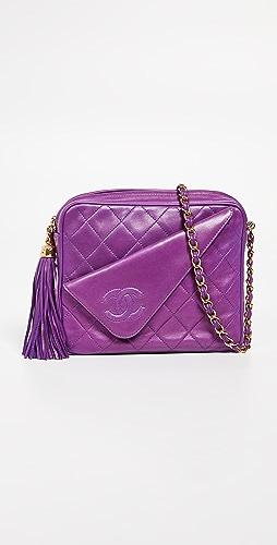 449896edc731 What Goes Around Comes Around Chanel Purple Lambskin Medi.