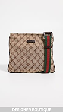 a7bb18b16cb Gucci Brown Coated Canvas Waist Pouch.  995.00  995.00  995.00. 11409 like  it. What Goes Around Comes Around