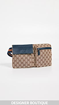 8a0fb6e10ebc What Goes Around Comes Around. Gucci Canvas Waist Pouch