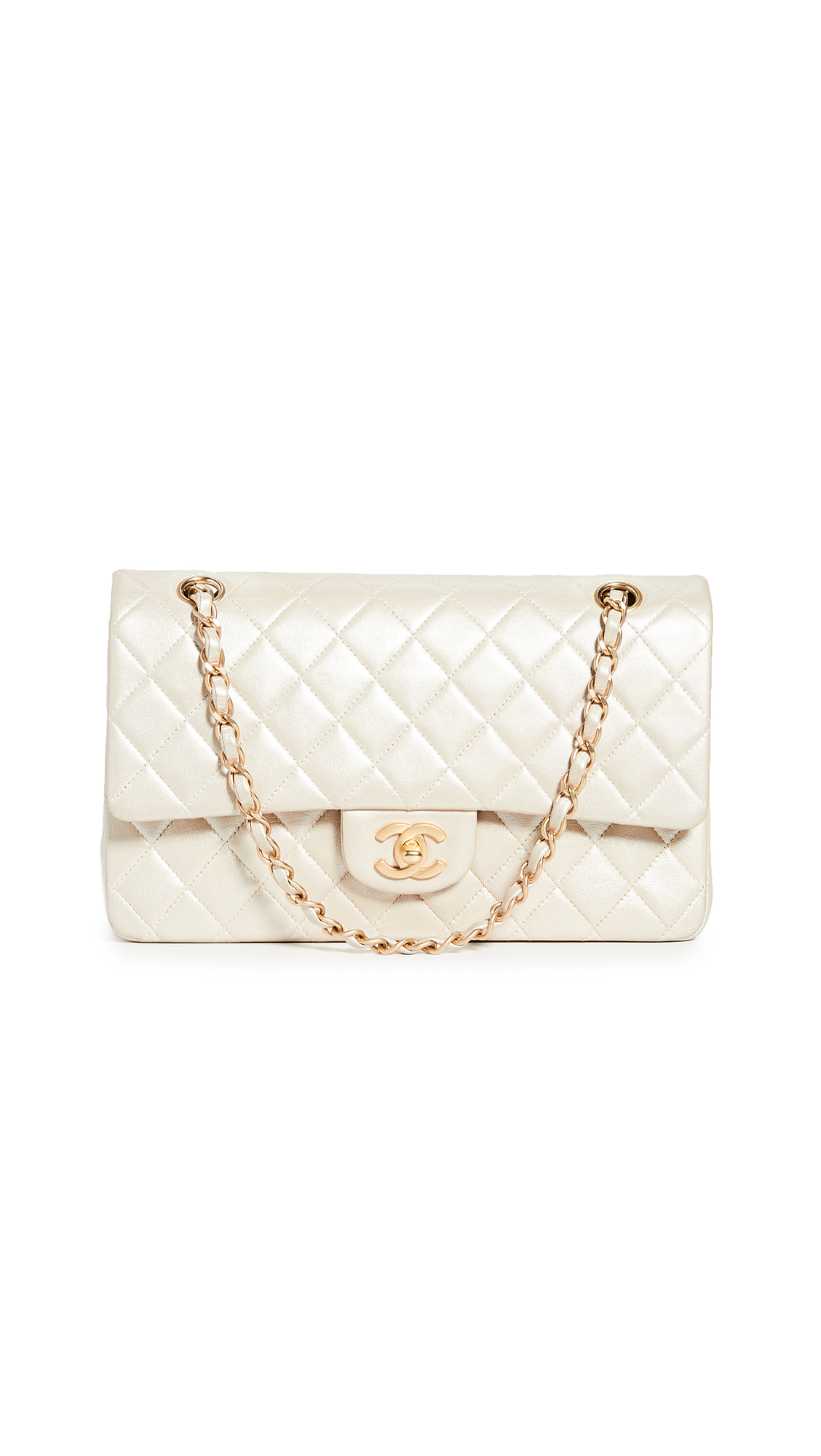 14c33d66116d WHAT GOES AROUND COMES AROUND | What Goes Around Comes Around Chanel Gold  2.55 10 Bag. SHOP