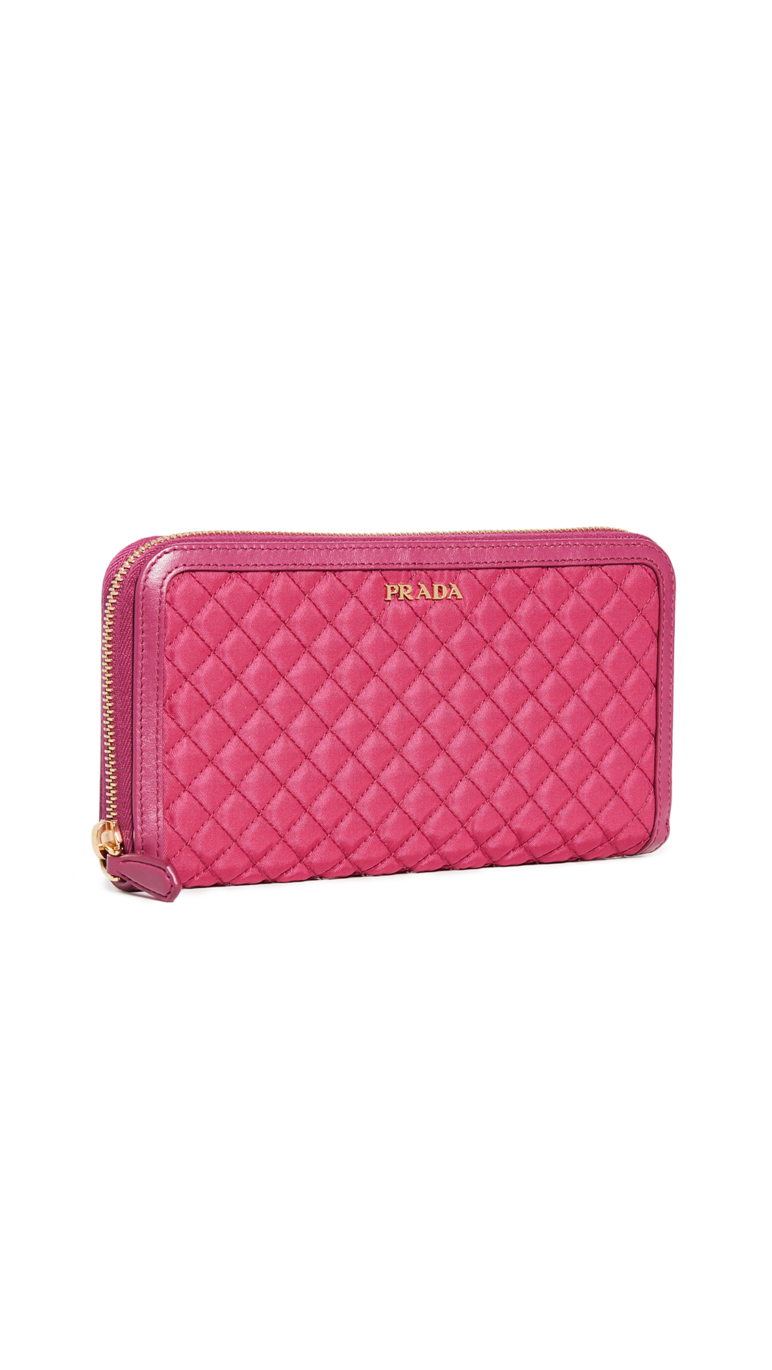 06db41f47147 WHAT GOES AROUND COMES AROUND | What Goes Around Comes Around Prada Pink  Tessuto Zip Around