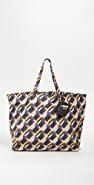 What Goes Around Comes Around Fendi Multi Nylon Tote