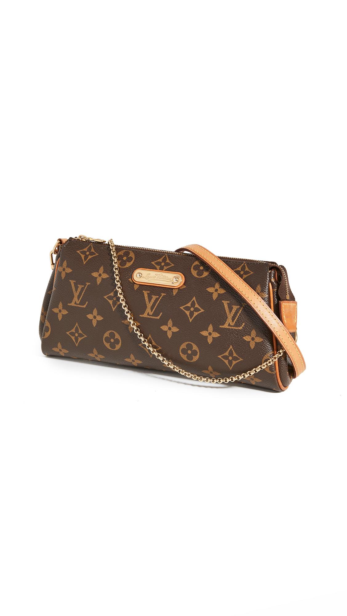Pre-owned Louis Vuitton Monogram Eva Bag In Brown