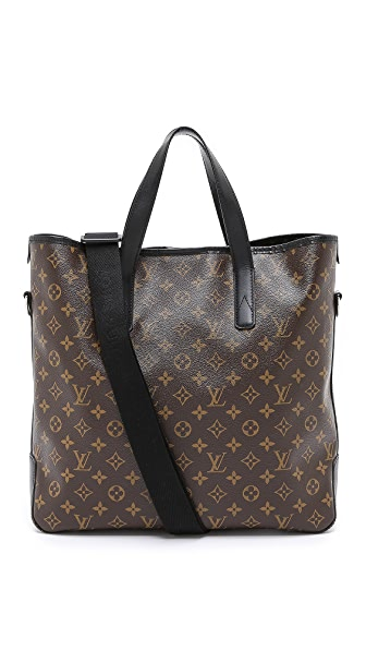 What Goes Around Comes Around Vintage Louis Vuitton Monogram Macassar Davis Tote
