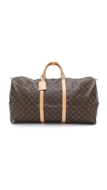 What Goes Around Comes Around Vintage Louis Vuitton Monogram Keepall 60