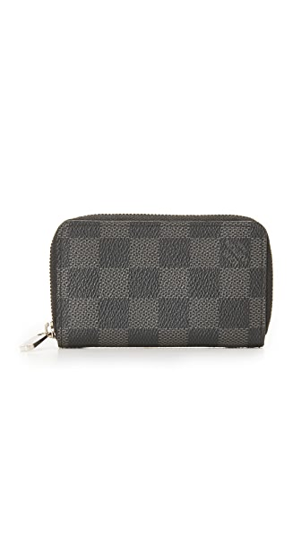 What Goes Around Comes Around Vintage Louis Vuitton Damier Zippy Coin Pouch