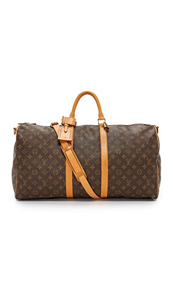 What Goes Around Comes Around Louis Vuitton Monogram Bandouliere 55 (Previously Owned)