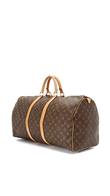What Goes Around Comes Around Louis Vuitton Monogram Keepall 55 (Previously Owned)