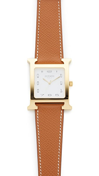 What Goes Around Comes Around Hermes H Hour GM Watch (Previously Owned)
